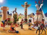 Playmobil Tabara amerindienilor si obiect de cult (PM5247)