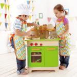 Hape Bucatarie din lemn (E3101) Bucatarie copii