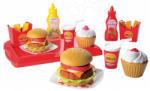 Ecoiffier Set Hamburger 100% Chef (2623) Bucatarie copii