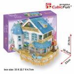 CubicFun Vila Rustica Pentru Papusi (P635h) Casuta papusi