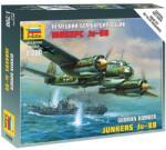 Zvezda Ju-88A4 1/200 6186