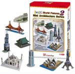 CubicFun 3D puzzle - Világhírű épületek 2. 144 db-os (C058H)