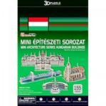 Shantou Magyarországi Épületek 155 db-os 3D