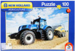 Schmidt Spiele New Holland kék traktor 100 db-os (16089)