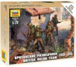 Zvezda British Recon Team 1:72 6226