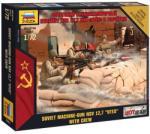 Zvezda Modern Soviet Machine gun 1:72 7411