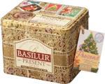 BASILUR Present Gold Fekete Tea Karácsonyi Díszdobozban