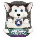Jay@Play HideAway Pets - Szibériai Husky plüssgombóc, nagy