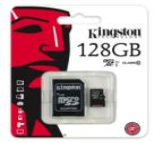 Kingston MicroSDXC 128GB Class 10 SDCX10/128GB