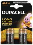 Duracell AAA Basic LR03 (4) Baterie alcalina