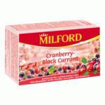Milford Vörösáfonya Tea 20 filter