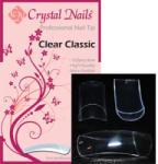 Crystal Nails - Clear Classic - Átlátszó Tip Box - 100db-os