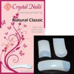 Crystal Nails - Natural Classic - Natur Tip Box - 100db-os