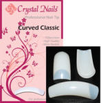 Crystal Nails - Curved Classic - Natur Tip Box - 100db-os