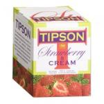 TIPSON Strawberry & Cream Tea 100g