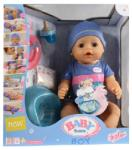 Zapf Creation Baby Born 8 funkciós interaktív baba - fiú