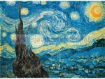 Clementoni Museum Collection - Van Gogh - Csillagos éj 500 db-os (30314)