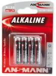 ANSMANN AAA Alkaline LR03 (4) Baterie alcalina