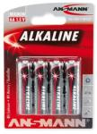 ANSMANN AA Alkaline LR6 (4) Baterie alcalina