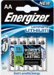 Energizer AA Ultimate Lithium LR6 (4) Baterie alcalina
