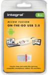 Integral Micro Fusion 8GB INFD8GBMIC-OTG Memory stick