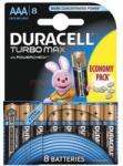 Duracell AAA Turbo Max LR03 (8)