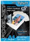 PIXELJET Art Tshirt white fehér pólóra vasalható fólia (589169)