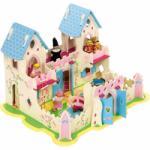 Bigjigs Toys Casa de papusi Palatul printesei Casuta papusi