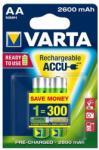 VARTA Rechargeable Accu AA 2600mAh (2)