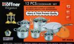 Hoffner Set oale 12 piese (HF 9929)