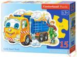 Castorland Homokszállító teherautó 15 db-os sziluett puzzle (B-015061)