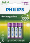 Philips AAA Rechargeable 1000mAh (4)