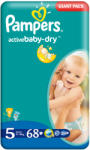 Pampers Scutece Pampers Nr. 5 68buc ActiveBaby-Dry Giant Pack