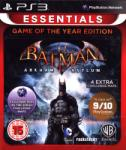 Eidos Batman Arkham Asylum [Game of the Year Edition-Essentials] (PS3)