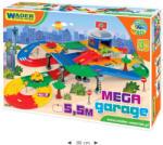 Wader Kid Cars 3D Mega Garage 2 szintes parkolóház és autópálya (53130)
