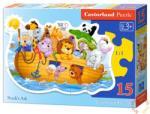 Castorland Noé bárkája 15 db-os sziluett puzzle (B-015054)