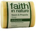 Faith in Nature Neem fa és propolisz szappan 100g