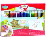 Aladine 3D festéktoll készlet - 12 darabos