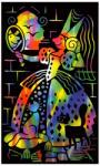 Reeves Szines képkarcoló, mini - Hercegnő