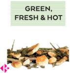 Johan & Nyström Green Fresh Hot Ízesített Zöldtea 100g
