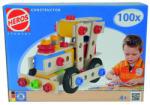 Simba Heros joc de construcţii din lemn - trenuri, 100 piese (ST100039027) Set bricolaj copii
