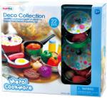 Playgo Set vase de bucătărie din metal 22 piese (6988) Bucatarie copii
