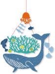 Djeco Design by Mini mobil: Bálna a tengerben - Whale under water