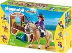Playmobil Melegvérű versenyló karámmal (5520)