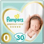 Pampers Premium Care 0 Newborn (2-5kg) 30db