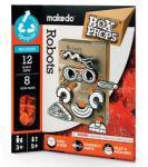 Makedo - BoxProps Arcok: Robotok