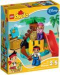 LEGO Duplo - Jake és Never Land kalózainak kincses szigete (10604)