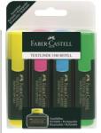Faber-Castell Textmarker 1548 FABER-CASTELL 4 buc/set