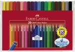 Faber-Castell Carioci 20 culori/set FABER-CASTELL Grip