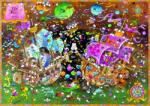 Heye Triangular puzzle - Mordillo - The Kiss 2000 db (29699)